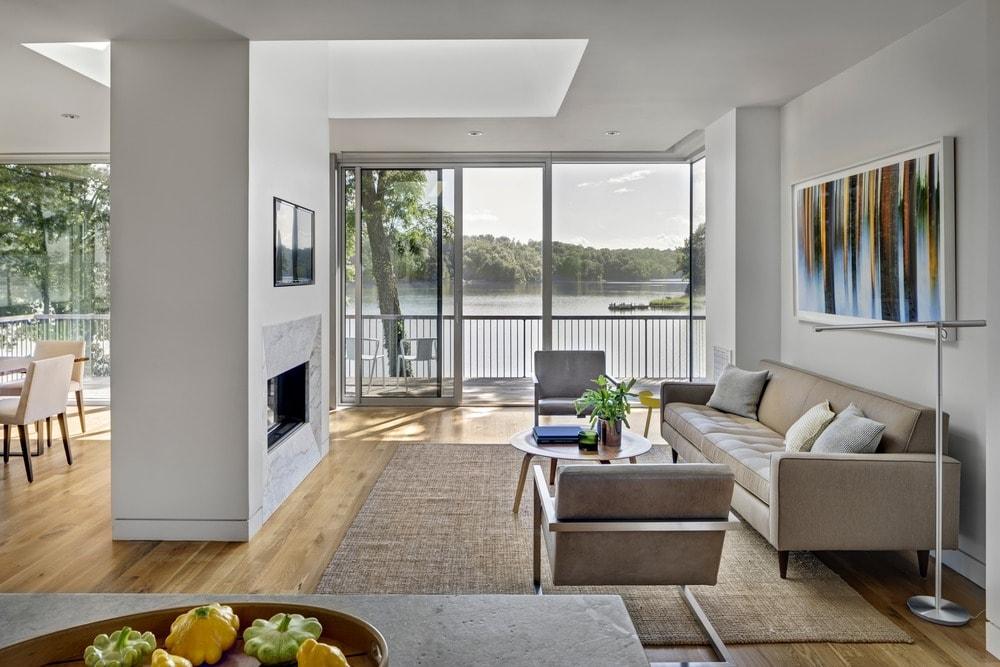 64 Desain Ruang Keluarga Modern, Nyaman Dan Berkelas - Rumahku Unik