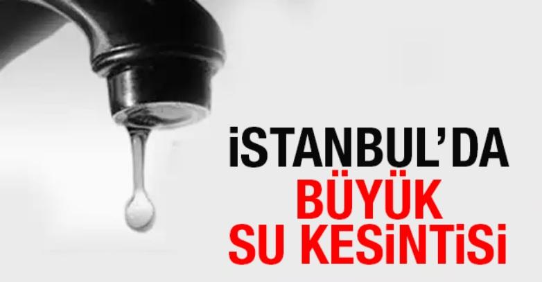 DİKKAT! Sancaktepe'nin 13 mahallesine 8 saat su verilemeyecek