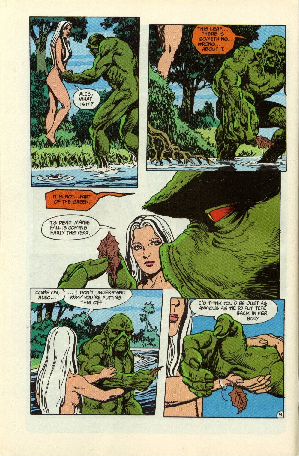 Swamp Thing (1982) Issue #99 #107 - English 5