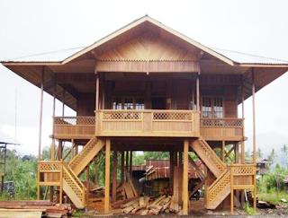 Rumah-Adat-Tradisional-Panggung-Kajang-Leko-Provinsi-Jambi