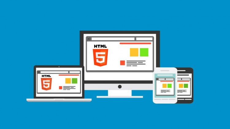 Build a Responsive Website with a Modern Flat Design - Udemy Course