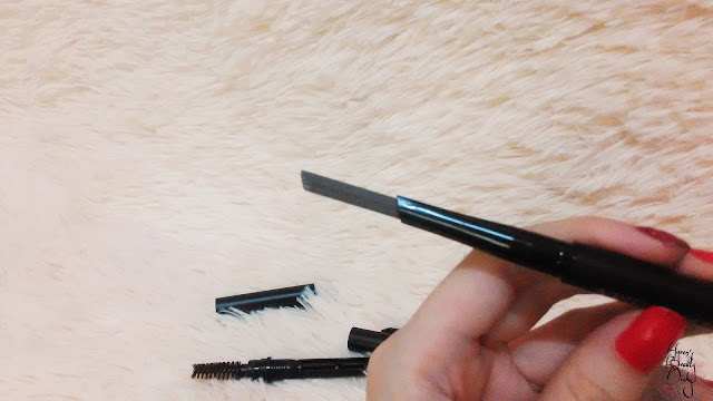 Review; A'PIEU's Edge Brow Pencil (Secret Formula); Red Brown