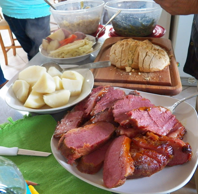 Corned Beef, with all the fixins for St. Patrick's Day
