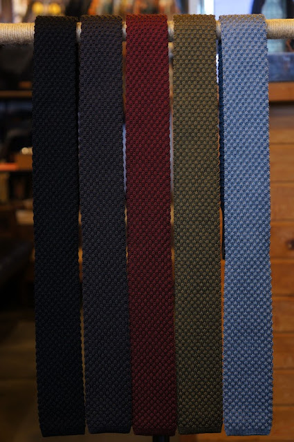 Workers Silk Knit Tie