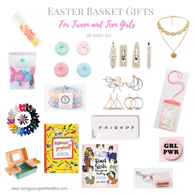 Need some fun and creative gifts for a Tween or Teen Girl that aren't candy?  We've found the perfect presents that any girl will love!