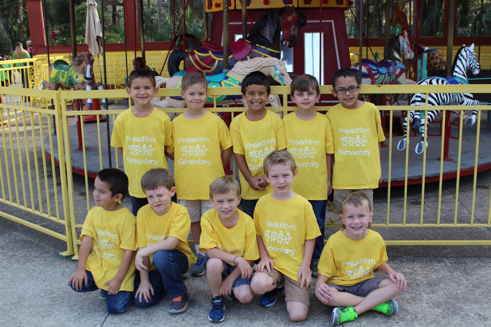 The Glenn Gang Micah S Kindergarten Zoo Field Trip