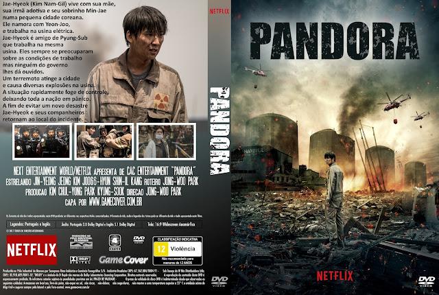 Capa DVD Pandora 2017 [Exclusiva]