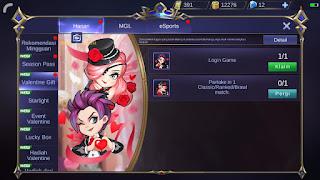 Cara Mendapatkan Emoticon Valentine Moblie Legend Gratis