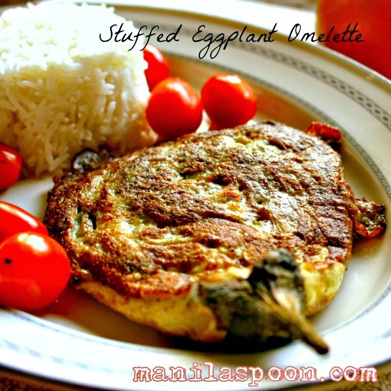 Tortang Talong (Stuffed Eggplant Omelette)