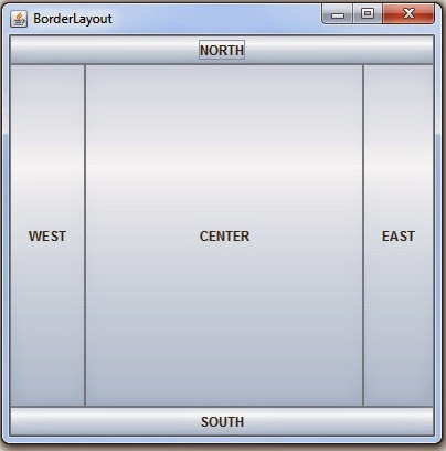 JAVA - How To Use BorderLayout In Java NetBeans - C#, JAVA