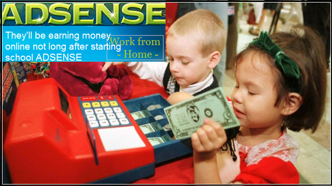 Adsense for Children Create Financial Independence