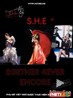 S.H.E 2Gether 4Ever Encore World Tour 2014 In Taipei