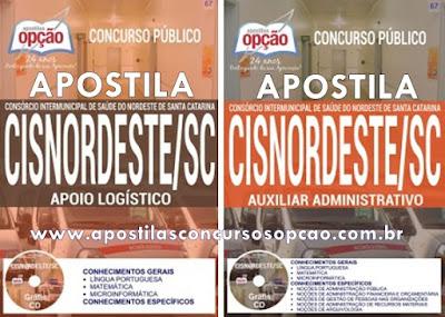 Apostila Concurso CISNORDESTE SC 2017