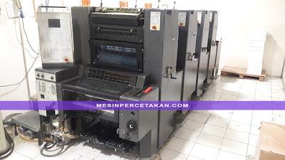 Heidelberg Printmaster 52 Mesin Cetak 4 Warna