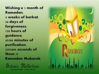 Ramadan Mubarak wishes For Massages: wishing you 1month of Ramadan