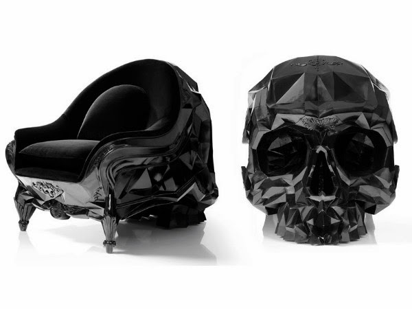 The Angular Skull Armchair | Spicytec