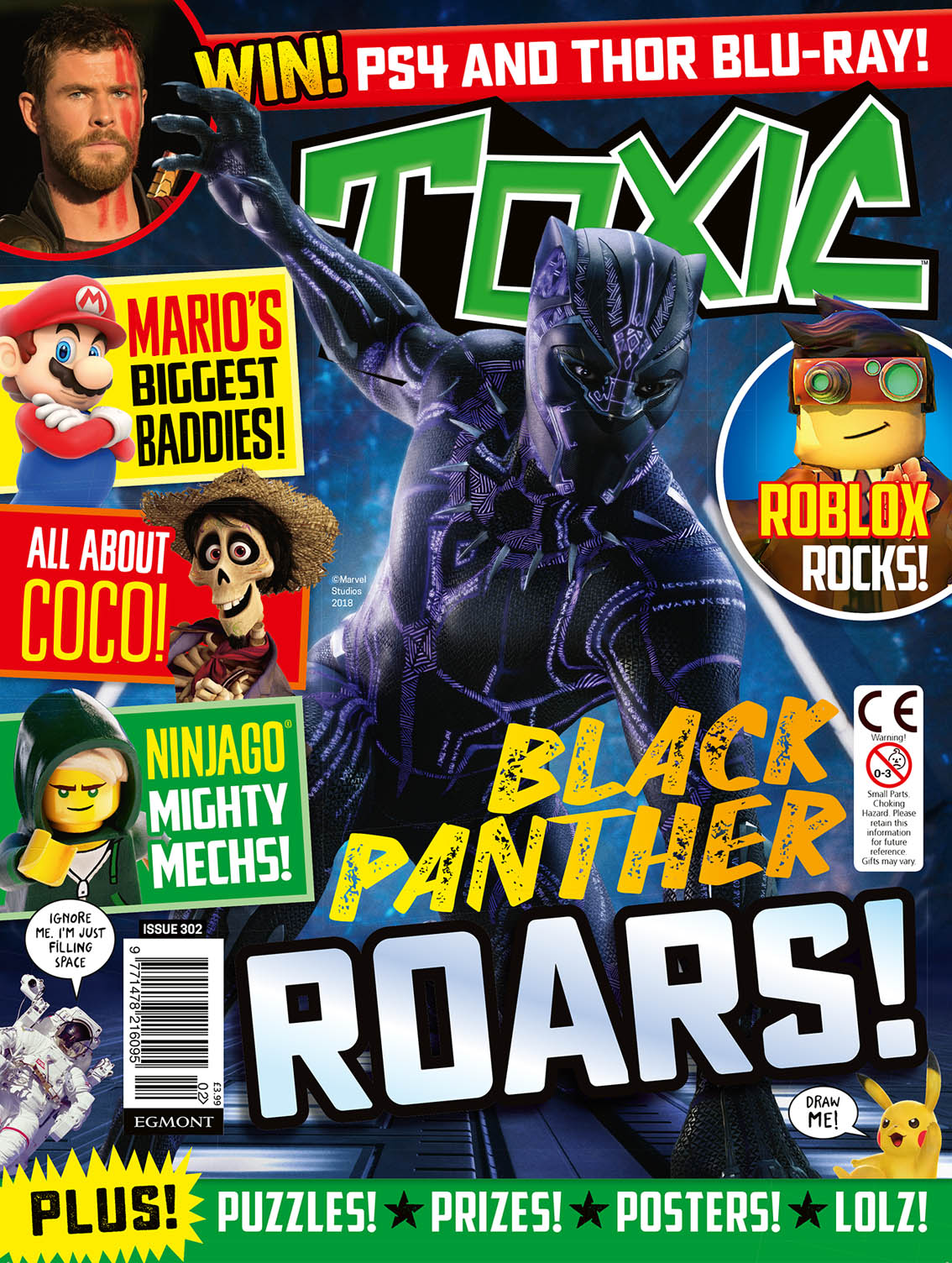 Blimey The Blog Of British Comics Toxic Gets A New Look