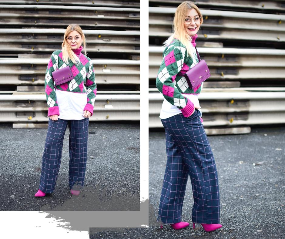 Wie style ich einen Crop Pullover, Modeblog, Ü40 Mode
