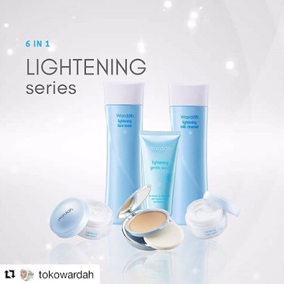 Paket Kosmetik Wardah Lightening 6 in 1