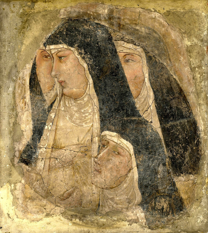 Ambrogio Lorenzetti - A Group of Poor Clares