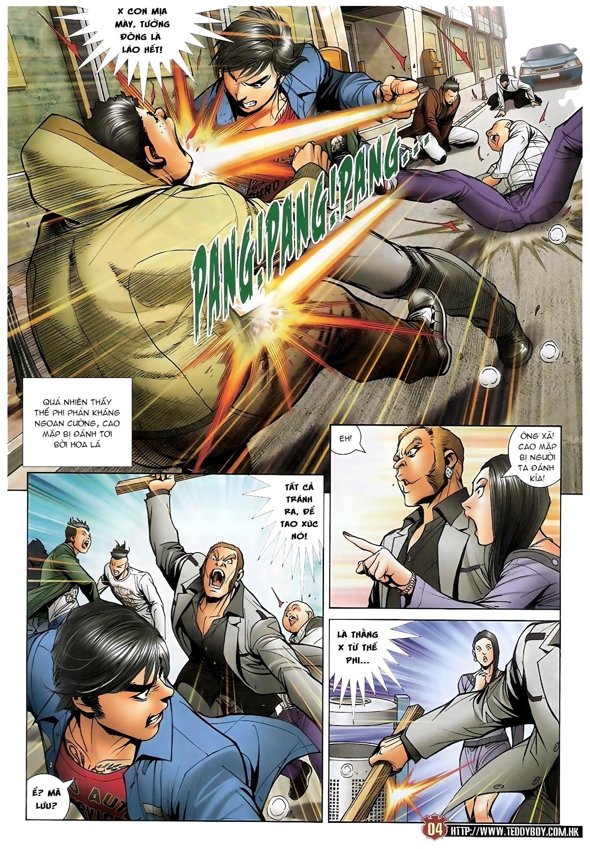 Người Trong Giang Hồ - Chapter 1567: Chơi bẩn - Pic 3