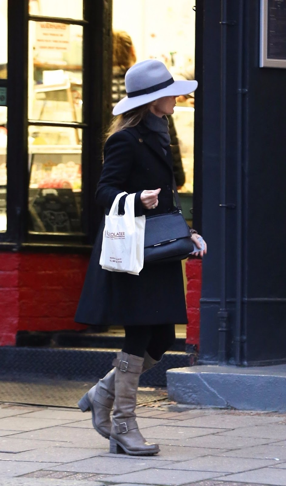Photos of Geri Halliwell Out Shopping Chocolate in London