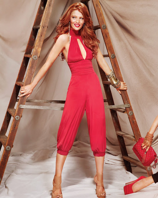 Models Inspiration: Cintia Dicker (Bebe A/W 2011 Campaign) HQ