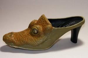 Crocodile shoes for women - photo#22