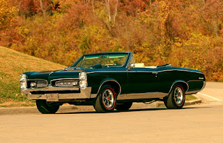 1967 Pontiac LeMans GTO Convertible Car