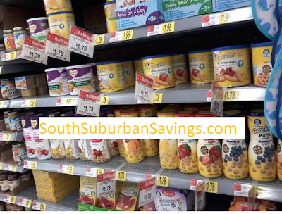 New Coupon: $1/3 Gerber Graduates Puffs, Lil Crunchies, or Yogurt Melts ($1.44 At Target; $1.45 At Walmart)