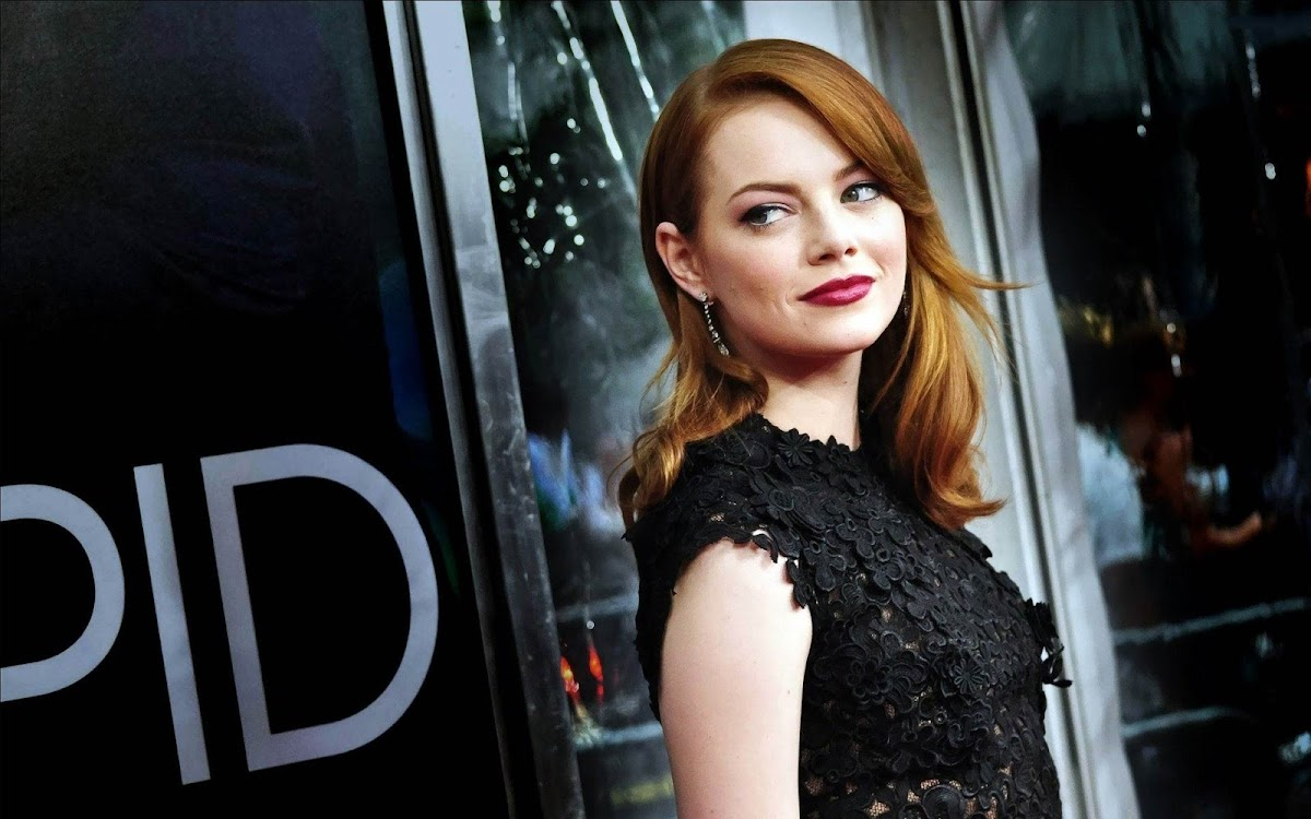Emma Stone Widescreen HD Wallpaper 10