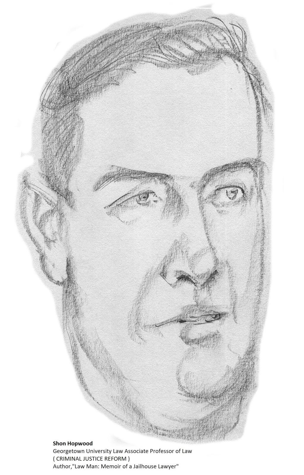 daily drawings: Shon Hopwood