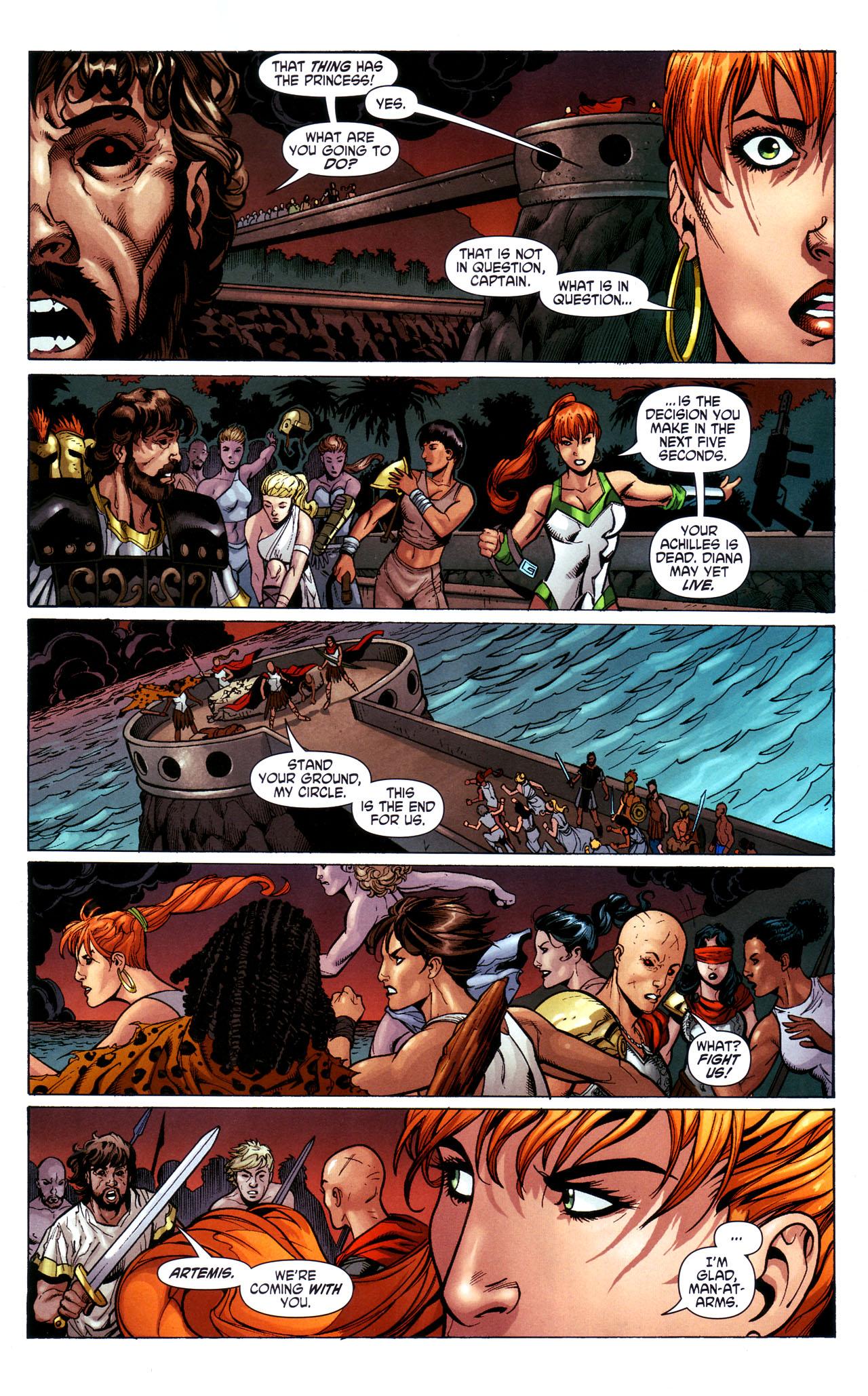 Read online Wonder Woman (2006) comic -  Issue #39 - 9