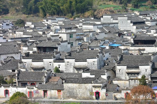 Les toits de Xidi