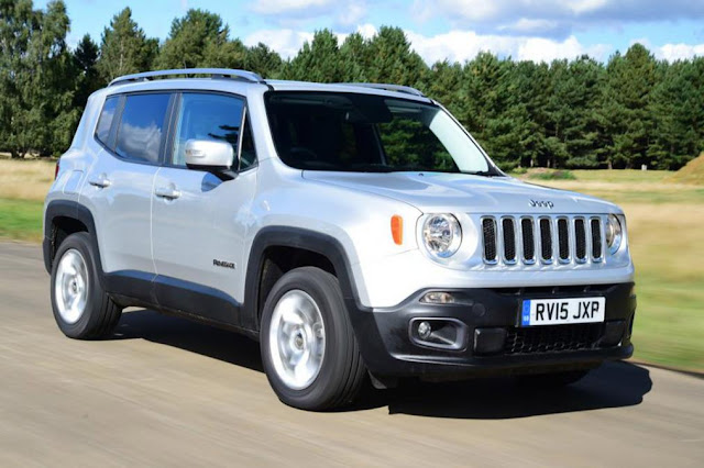 8. Jeep Renegade discount car