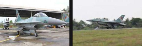 F-16 di Lanud SIM