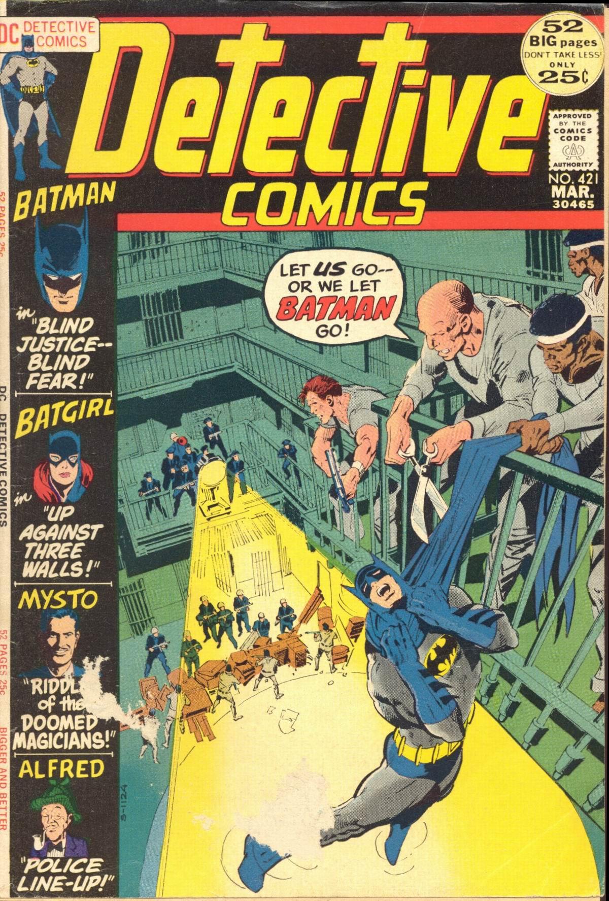 Detective Comics (1937) 421 Page 1