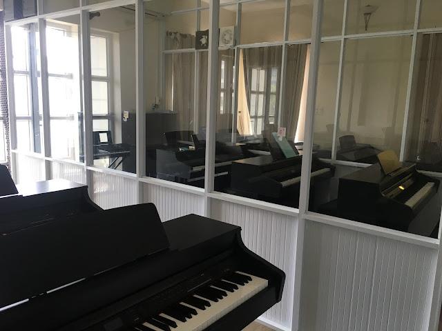 học nhóm piano