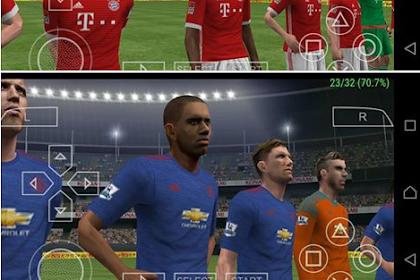 Download Game Pes 2016/2017 update ppsspp terbaru