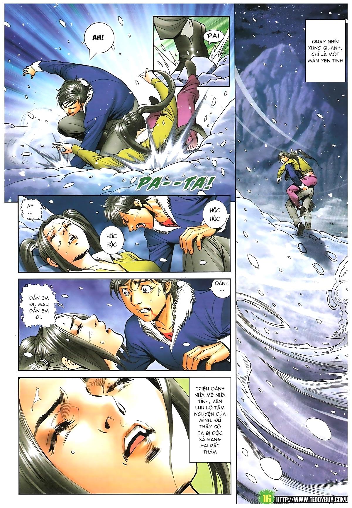 Người Trong Giang Hồ - Chapter 1616: Triệu Kế Bang vs Đinh Dao - Pic 15