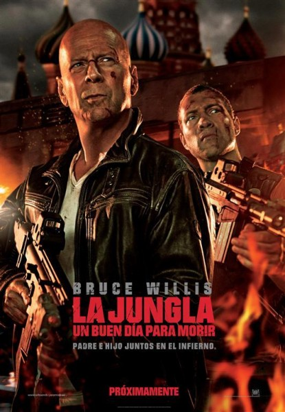 Junga de Cristal, La Jungla,  A good day to die hard, Bruce Willis,