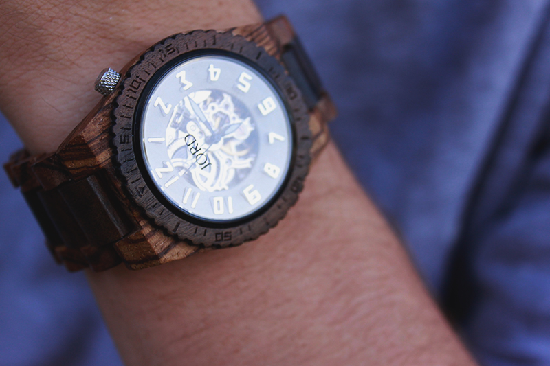 see through watch, winding watch