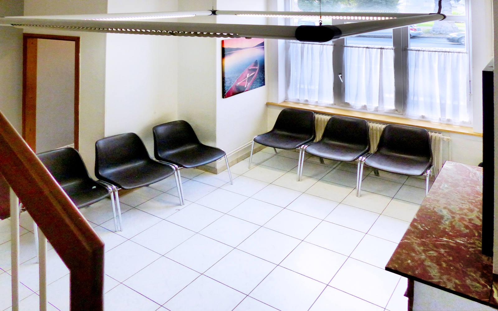 La salle d'attente du Médecin JAGGI