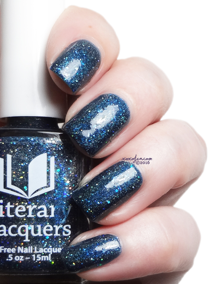 xoxoJen's swatch of Literary Lacquers Stars Walk Backward