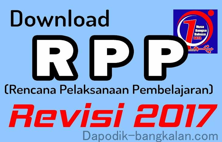 Download RPP Kurikulum 2013 Tahun 2017