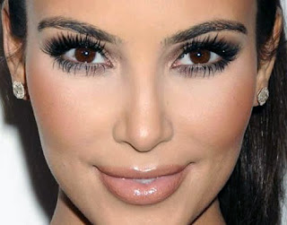 Kim Kardashian Enhanced Eye Makeup