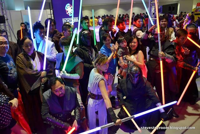 Jedi Mob Flashmob ToyCon