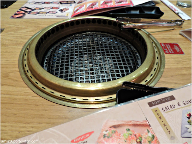 Restaurante BBQ Japonés de Nueva York