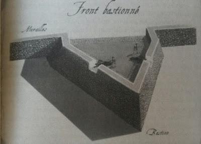 Baluarte de una muralla