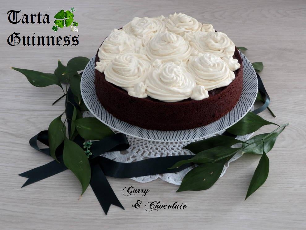 Tarta Guinness - Chocolate Guinness cake